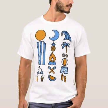 Beach Themed Summer beach life T-Shirt