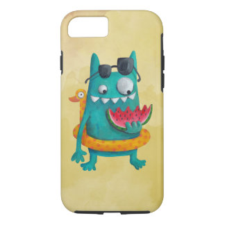 Summer Beach Monster iPhone 7 Case