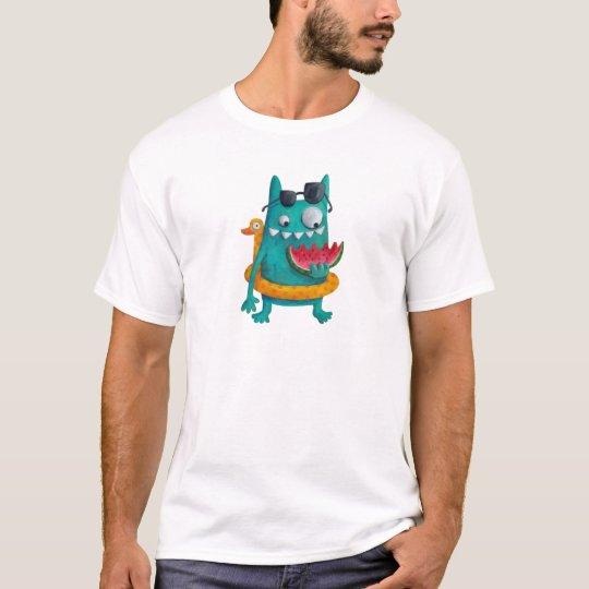 Summer Beach Monster T-Shirt