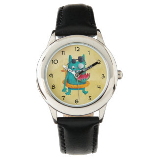Summer Beach Monster Wrist Watch