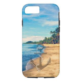 Summer Beach Nautical Anchor iPhone 7 case