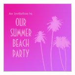 Summer Beach Party Invite