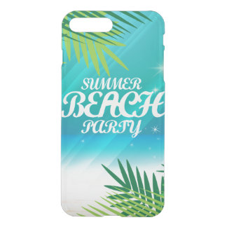 Summer Beach Party iPhone 8 Plus/7 Plus Case