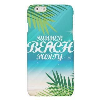 Summer Beach Party Matte iPhone 6 Case