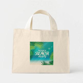 Summer Beach Party Mini Tote Bag
