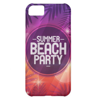 Summer Beach Party Night Case For iPhone 5C