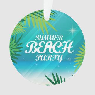 Summer Beach Party Ornament