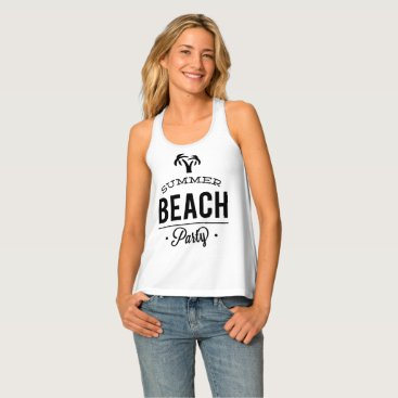 Summer Beach Party Tank Top