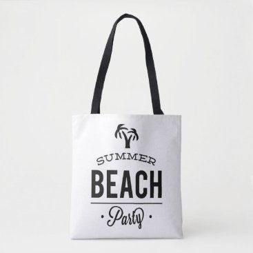 Summer Beach Party Tote Bag