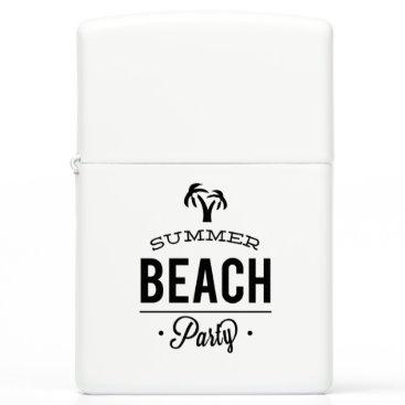 Beach Themed Summer Beach Party Zippo Lighter