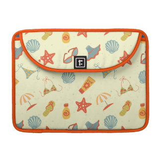 Summer Beach Pattern Sleeve For MacBook Pro