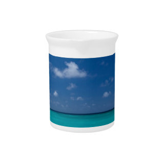 Summer Beach Drink Pitcher
