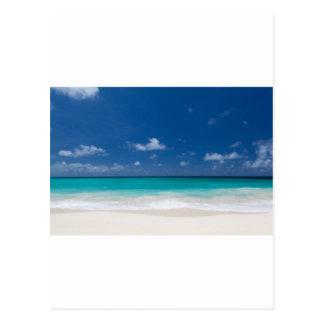 Summer Beach Postcard