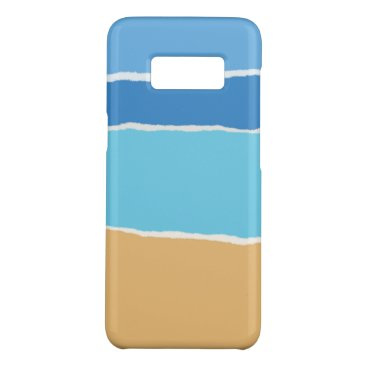 Beach Themed Summer beach, sea and sky Case-Mate samsung galaxy s8 case