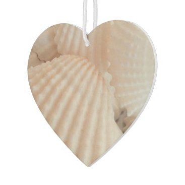 Beach Themed Summer Beach Sea Shells Ocean Tropical Heart Car Air Freshener