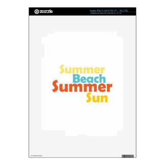 Summer Beach Skin For iPad 3