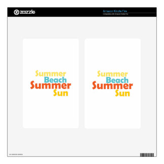 Summer Beach Skins For Kindle Fire