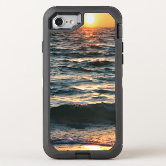 Summer Beach Sunset OtterBox Defender iPhone 8/7 Case