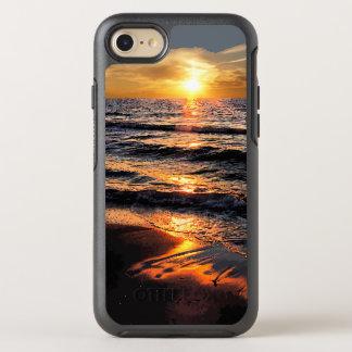 Summer Beach Sunset OtterBox Symmetry iPhone 7 Case