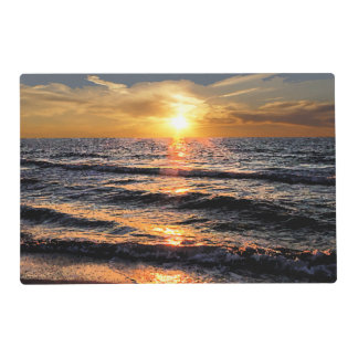 Summer Beach Sunset Placemat
