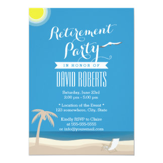 summer_beach_theme_retirement_party_invitations r177487d4f0b3484195e4da0c1046c44d_zkrqs_324?rlvnet=1 summer beach party invitations & announcements zazzle,Beach Theme Party Invitations
