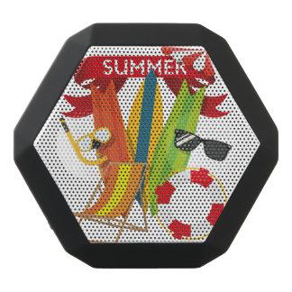 Summer Beach Watersports Black Bluetooth Speaker