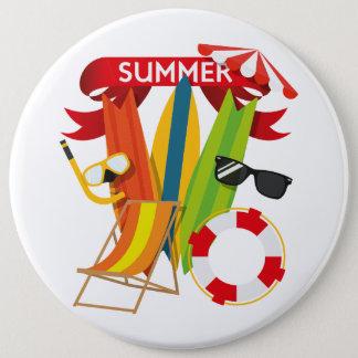 Summer Beach Watersports Button