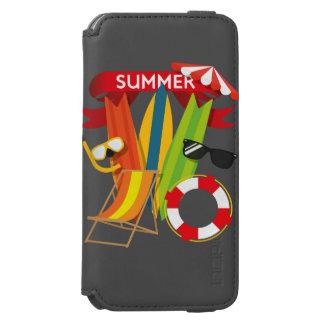 Summer Beach Watersports iPhone 6/6s Wallet Case