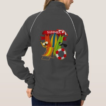 Beach Themed Summer Beach Watersports Jacket