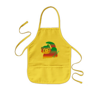 Summer Bear Kids' Apron