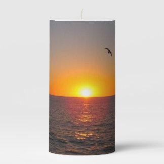 Summer Beauty Pillar Candle