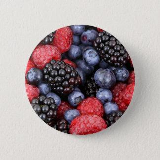 Summer Berries Button