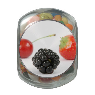 Summer Berries Jelly Belly Candy Jar