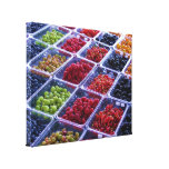 Summer Berries Wrapped Canvas Canvas Prints