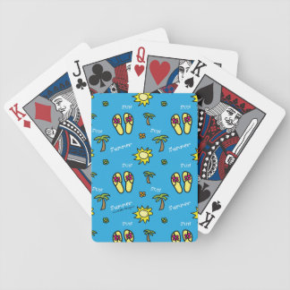 Summer Bicycle Playing Cards