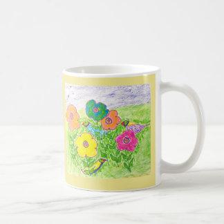 Summer Birds in the Garden Coffee Mug