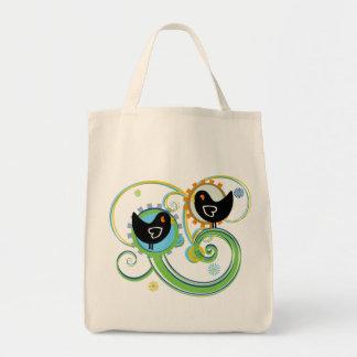 Summer Birds Tote Bag