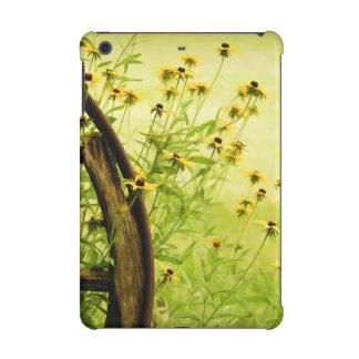 Summer Black-Eyed Susan and Wagon Wheel Photo iPad Mini Retina Case