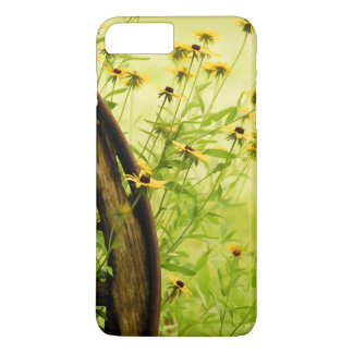 Summer Black-Eyed Susan and Wagon Wheel Photo iPhone 8 Plus/7 Plus Case