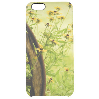 Summer Black-Eyed Susan and Wagon Wheel Photo Uncommon Clearly™ Deflector iPhone 6 Plus Case