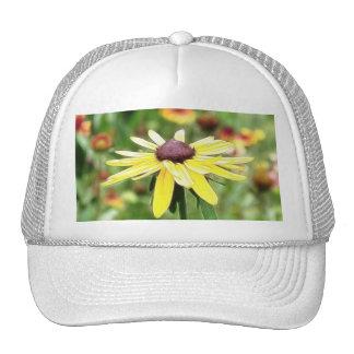 Summer Black Eyed Susan Mesh Hats