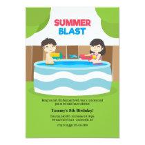 Summer Blast Invitation