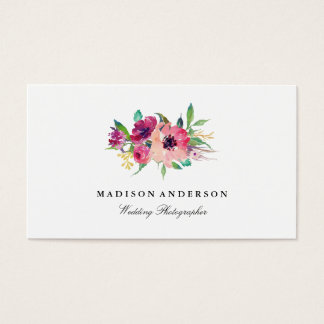 Summer Blooms Business Cards