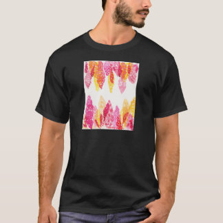 Summer Blooms - Floral Snapdragons - Pink, Orange T-Shirt