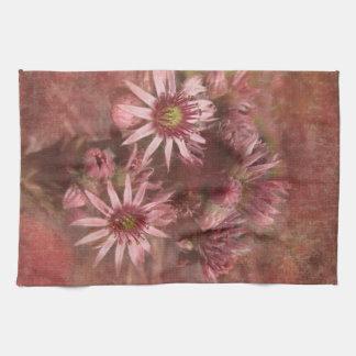 Summer blooms towel
