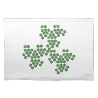 summer blossom - spread - green placemat