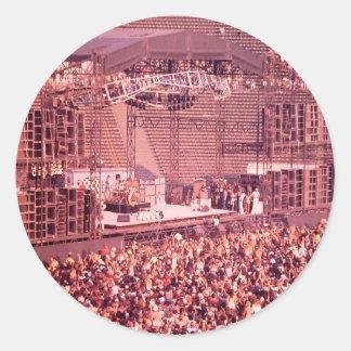 Summer Blowout 1980 Classic Round Sticker
