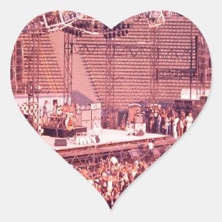 Summer Blowout 1980 Heart Sticker
