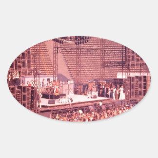 Summer Blowout 1980 Oval Sticker