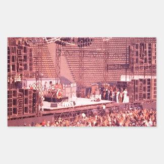 Summer Blowout 1980 Rectangular Sticker